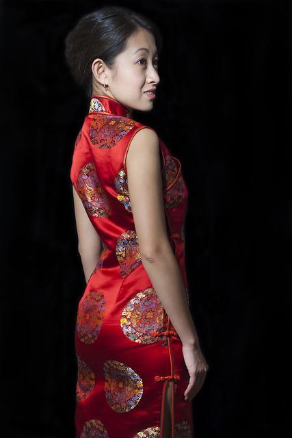 Red QiPao Dress