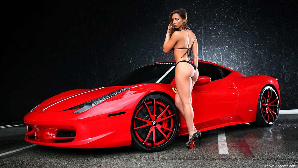 Hd Car Wallpapers Hot Model Girl Cars Wallpapers Hd Free
