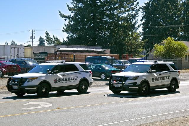 Pierce County Sheriff's Ford Interceptors 2017 WA_0O2A3461
