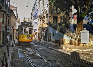 Tram at Lisbon | by Travelinho.com