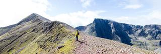 Ben Nevis: Carn Mor Dearg Arete route | by angelatravels11