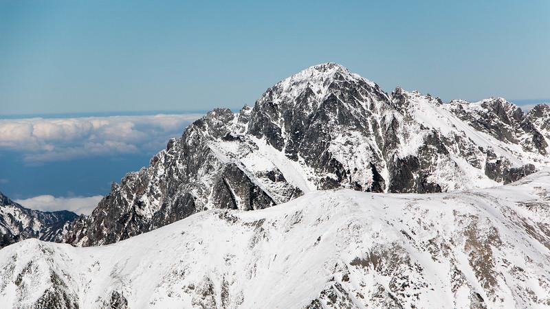 立山から見る剱岳