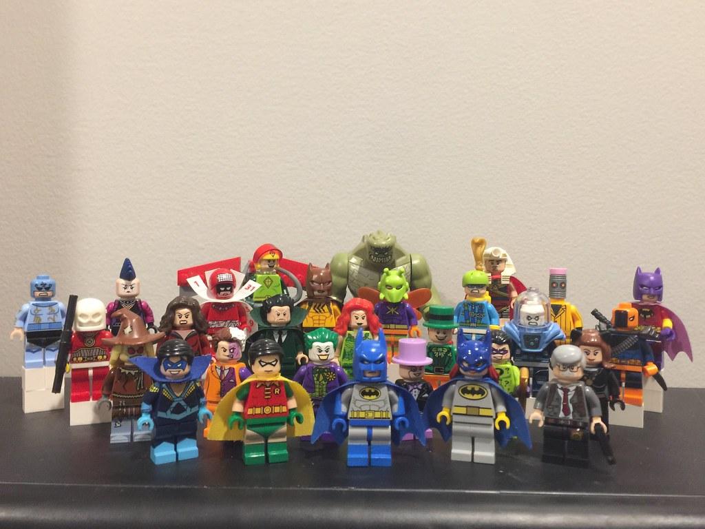 Lego Retro Batman Ah All Of Em In One Pic Brings A Sing Flickr