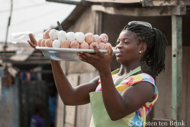 Egg vendor of Accra