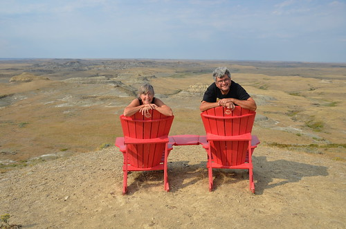 Grasslands East block red chairs | by Pierre Yeremian