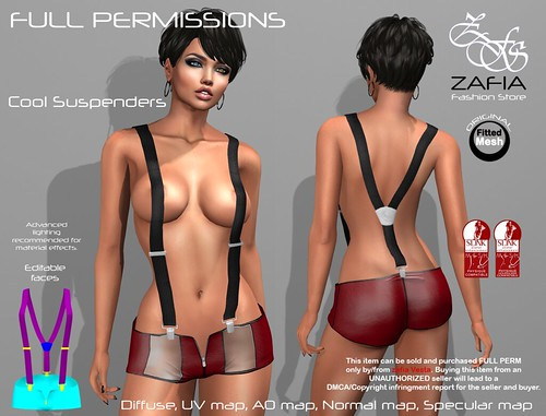 Cool Suspenders Slink | by ZAFIA Fashion Store-METAPHOR