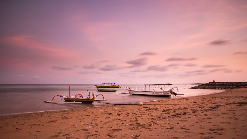 Image result for Sanur sunset