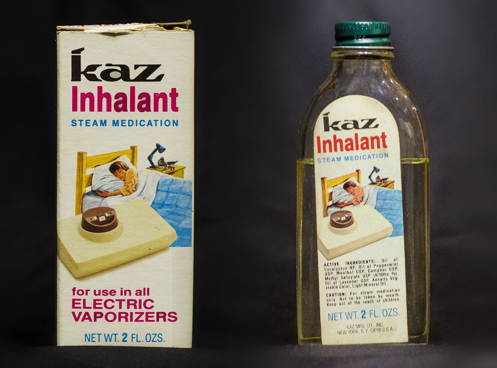 Kaz Inhalant Steam Medication | I`d guess from the 80`s  I t