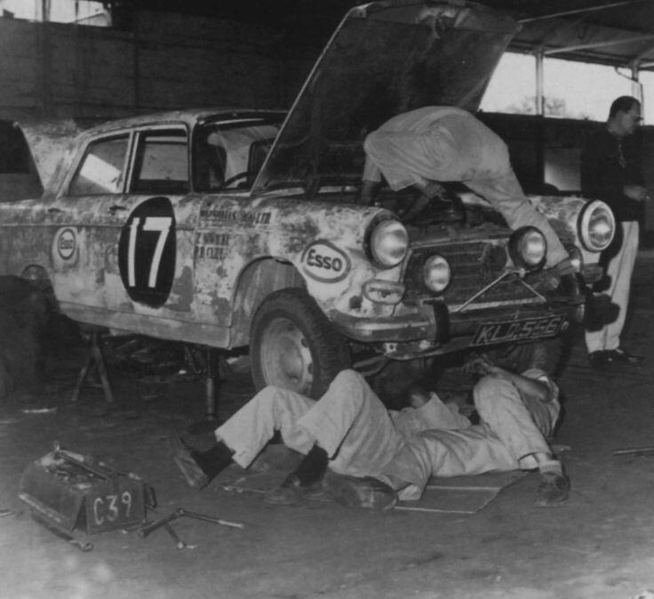 Peugeot 404 – Safari Kenya 1968
