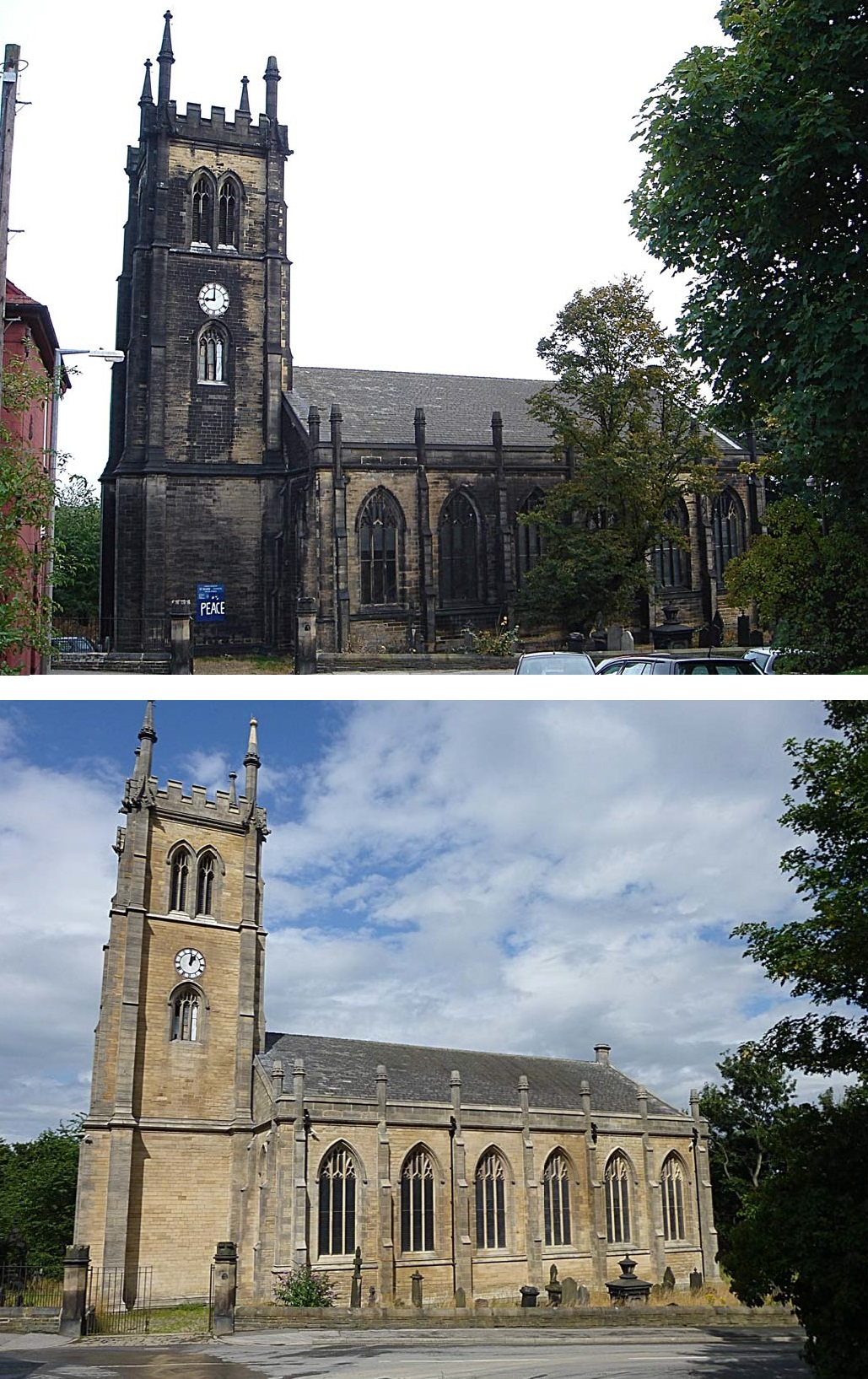 King of Prussia Gold Medal: St Mark, Leeds (before and after)