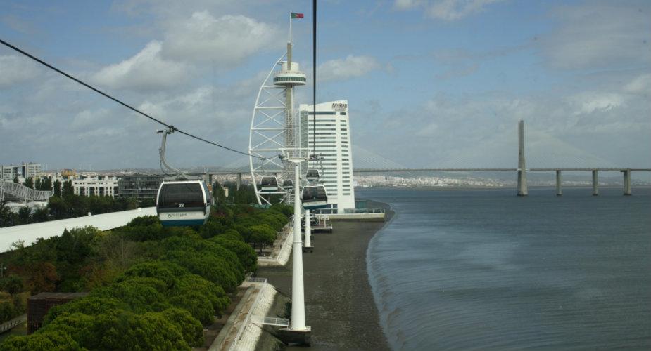 Telecabine, met de kabelbaan in Lissabon | Mooistestedentrips.nl