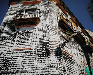 Street art. Fotos de domingo 2017. 38/53 #streetphoto #streetart #photography #phonephoto #fotosdedomingo_2017 #building #travelphoto #summer2017 | by treboada