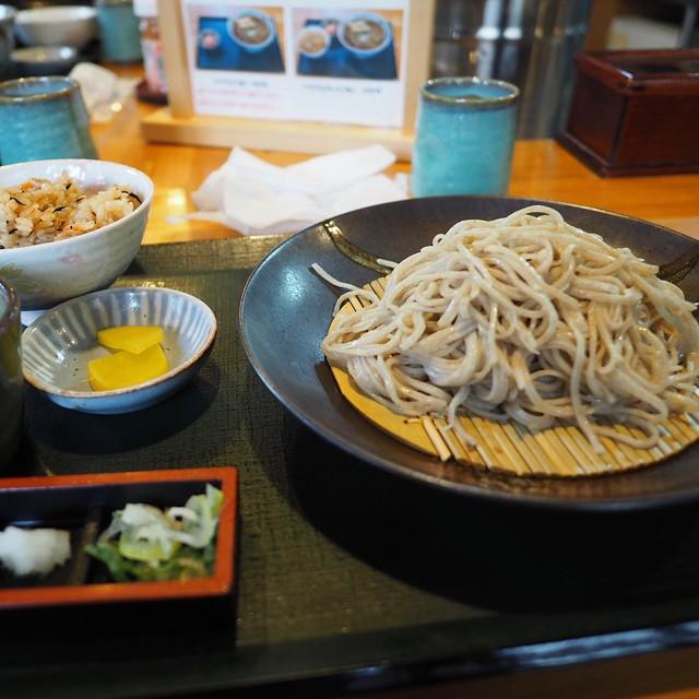 Mori-soba set ¥1050