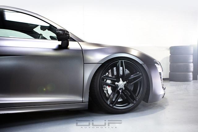 Audi R8 V10 Satin Dark Grey