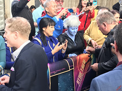 William Shatner signing autographs at the Star Trek Discovery Premiere - IMG_0066