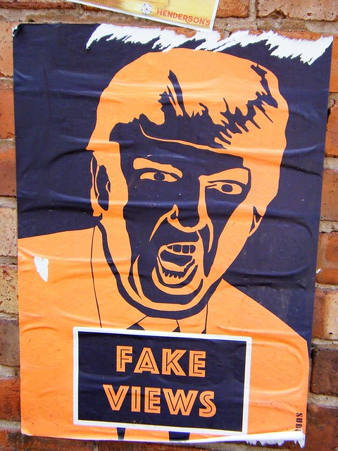 Manchester street art - Donald Trump - please see album