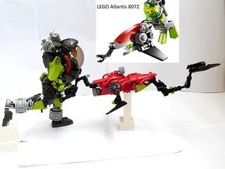 LEGO ATLANTIS 8072