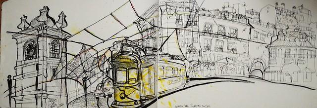 Lisboa, Largo Portas do Alfama,