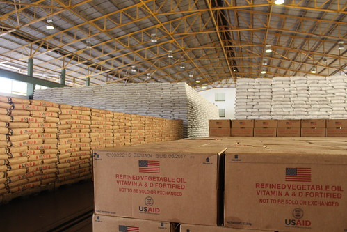 Food in warehouse in Mutare Zimbabwe | by USAID Africa