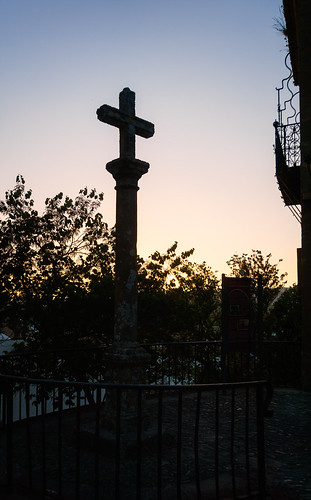 ronda andalucía spain es 2015 balcony cross fence lattice light monument renaissance town