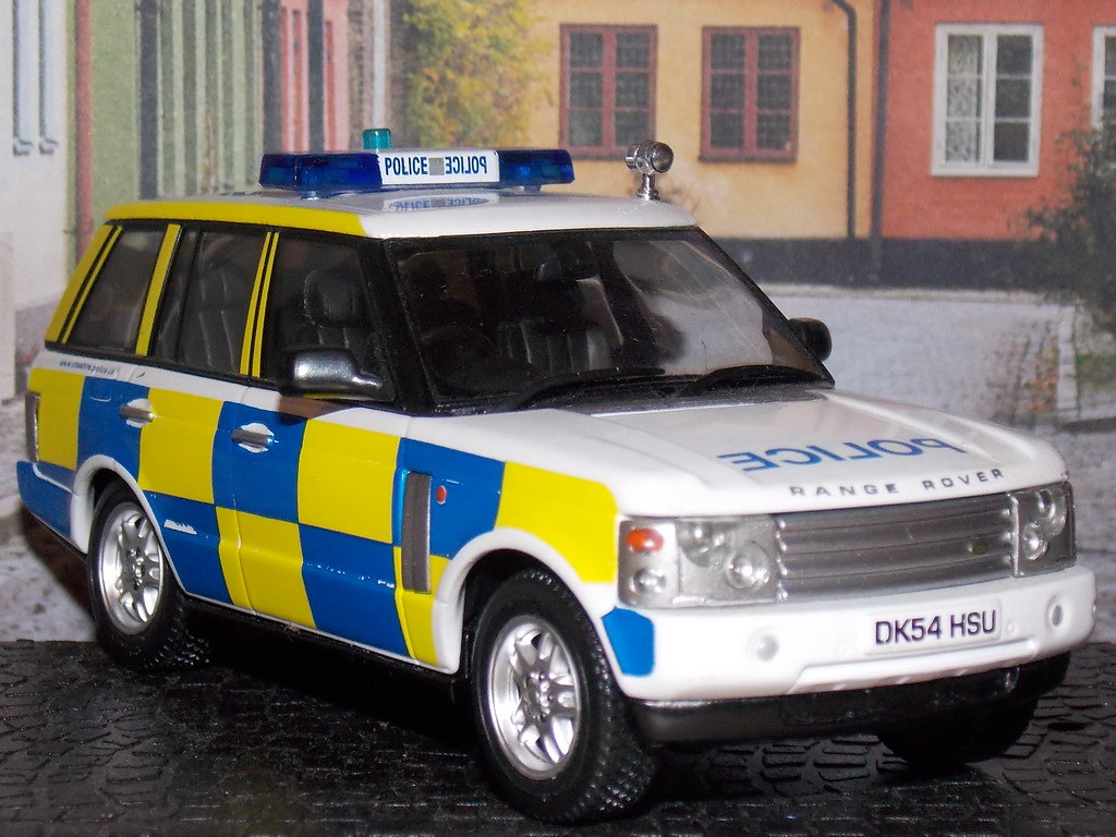 Range Rover – Police – 2002