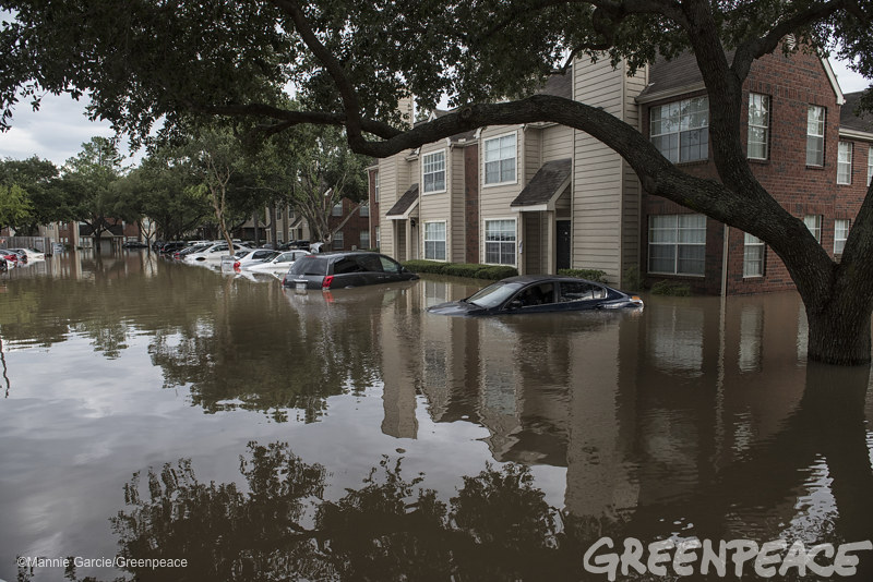 Hurricane Harvey Flooding In Katy, Texas | Flood waters from… | Flickr