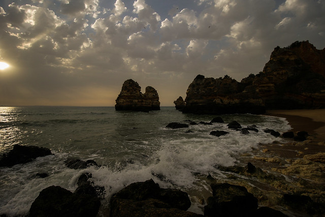 The skies of the Algarve