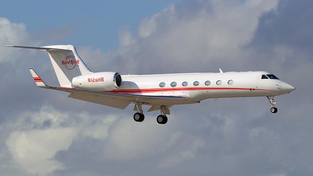 Hard Rock Gulfstream G550.