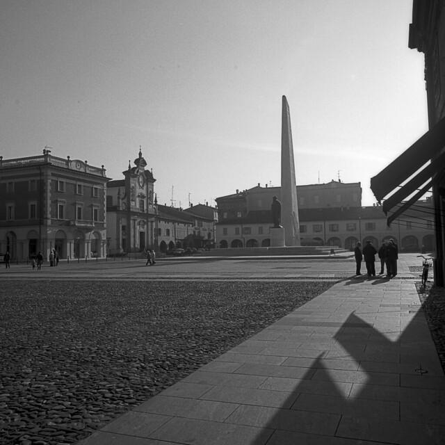 Piazza Francesco Baracca - Lugo - ITALY - October 2015