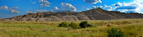 toadstool geologic nebraska landform cloudsstormssunsetssunrises sandstone ledges silt deposits hills formations conical erosion mounds sedimentary