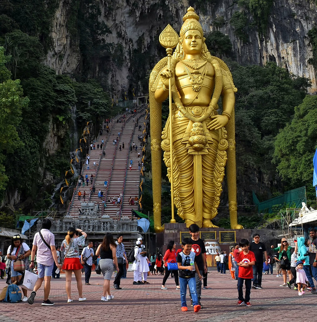 Lord Murugan Statue at Batu Cave, Malaysia
