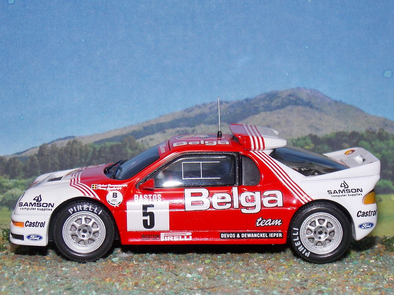 Ford RS200 – Rallye D'ypres 1986