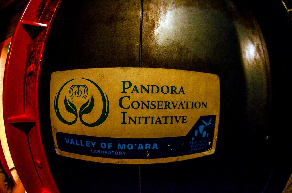 Pandora Conservation Institute sign AK