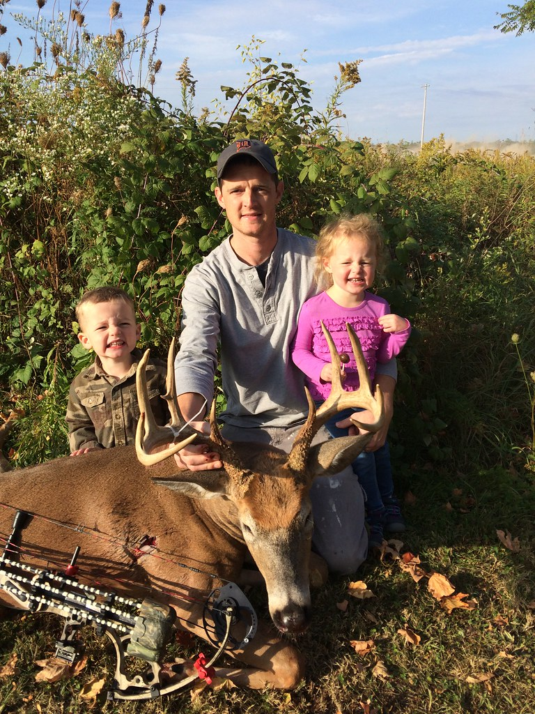 Ryan Nugent's opening day buck!