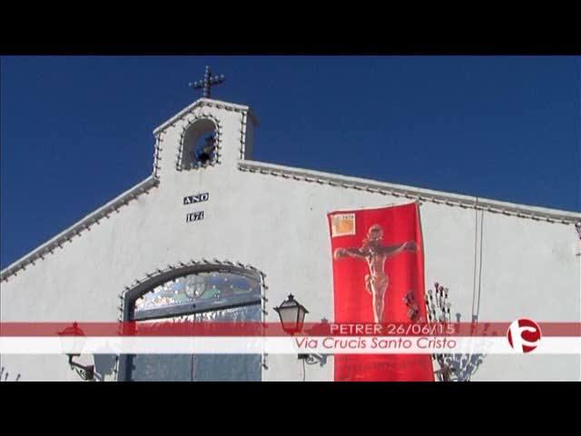 ElCristo - Videos - Intercomarcal TV - (2015-06-26) - Vía Crucis bajada