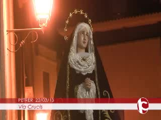 ElCristo - Videos - Intercomarcal TV - (2013-03-22) - IV Vía Crucis Nocturno