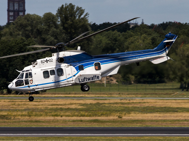 Luftwaffe | Eurocopter AS-532U2 Cougar | 82+02