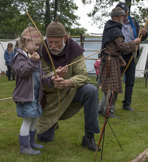 Nobody is too small to learn the noble art of archery