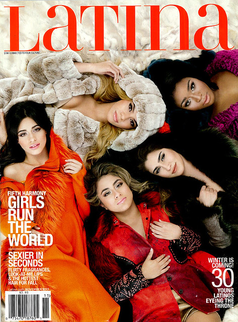 Latina Magazine Cover, November 2015, Fifth Harmony