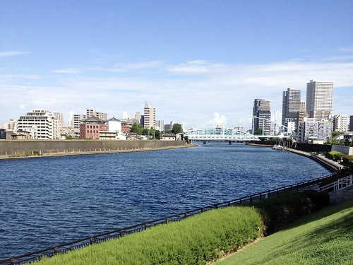 River   by Shinji Abe