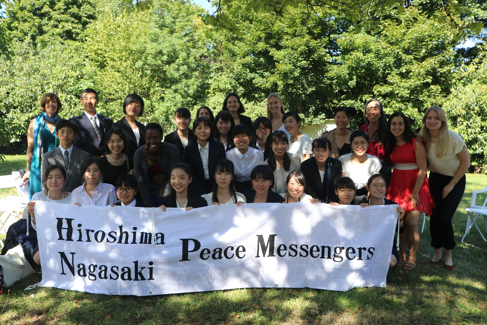 World YWCA welcomes Japanese Peace Messengers