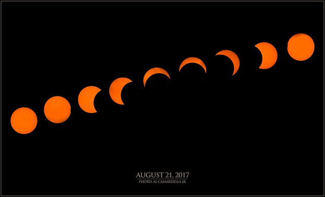 Great Eclipse of 2017 [Composite 2]