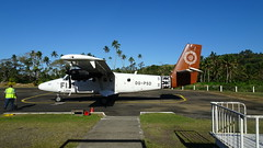 234 Abflug von  -  plane leaving Savusavu