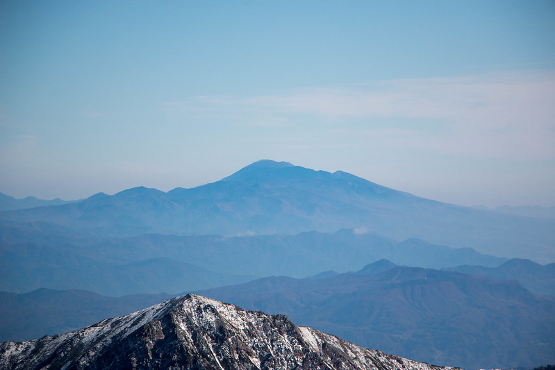 立山から浅間山