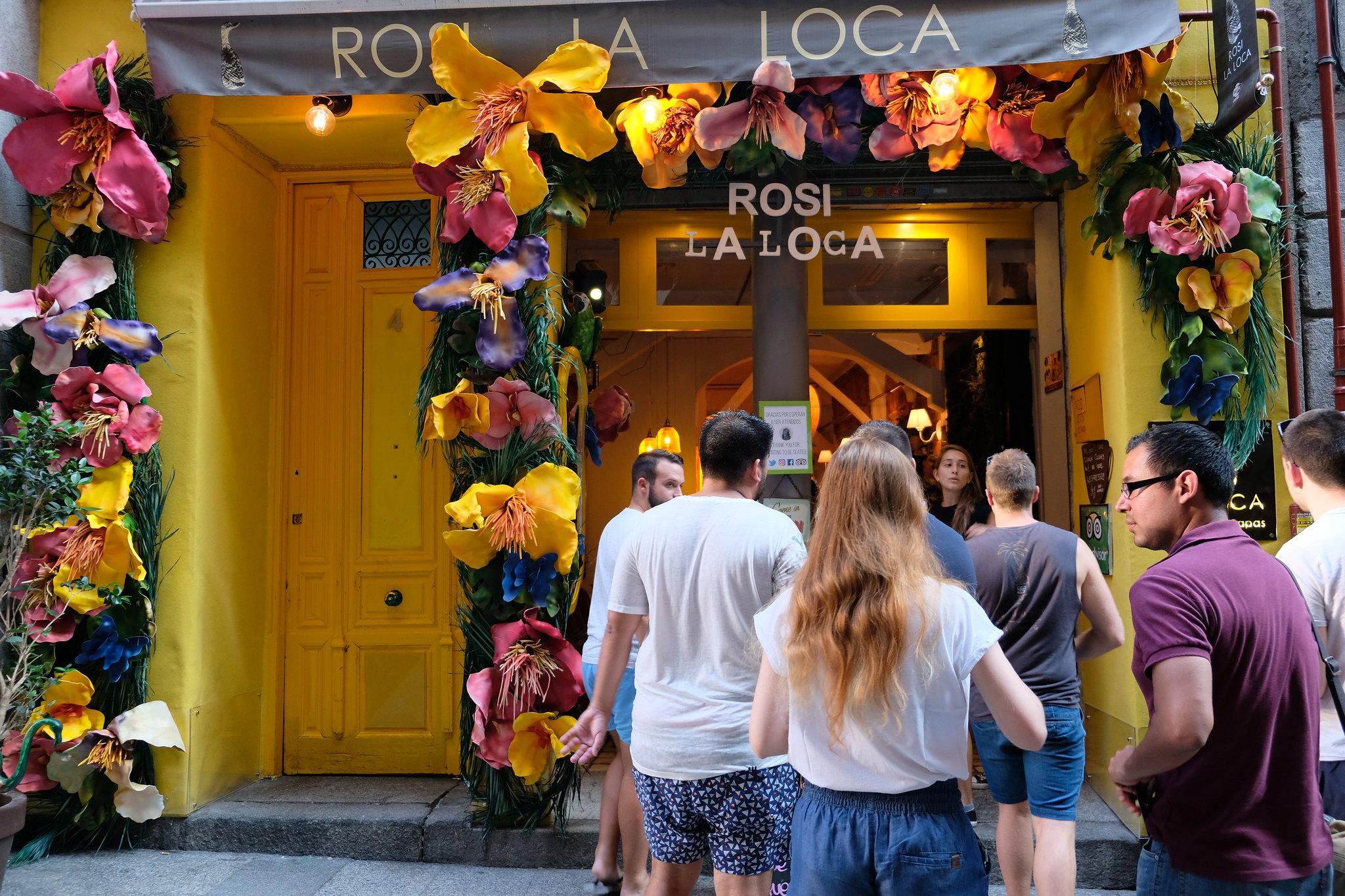 Rosi La Loca | Tapas in Madrid