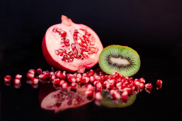 Pomegranate & Kiwi