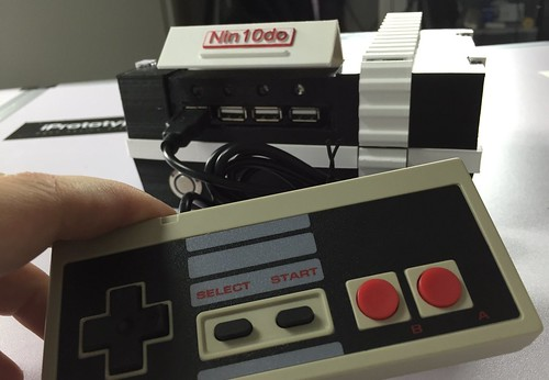 Nin10do RetroPi game console | by Felix Rusu, LowPowerLab.com
