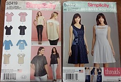 Simplicity S0419 and S0372
