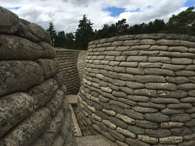 Trincheras de la I Guerra Mundial