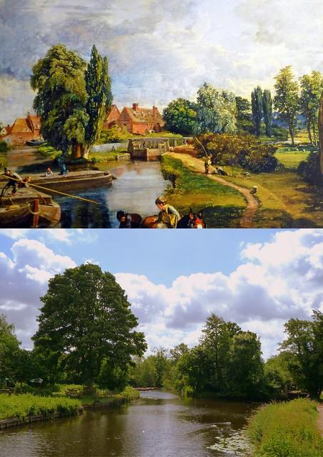 Flatford Mill (Scene On A Navigable River) (1816-17)